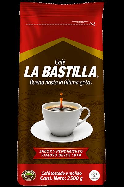 Café la bastilla fuerte 2500g