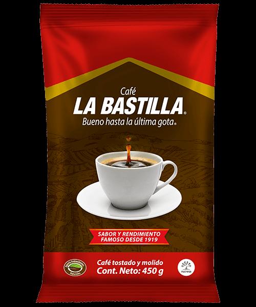 Café la bastilla fuerte 450g