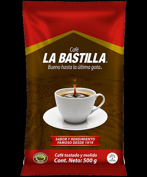 Café la bastilla fuerte 500g