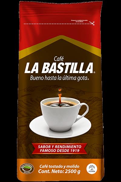 Café la bastilla medio 2500g