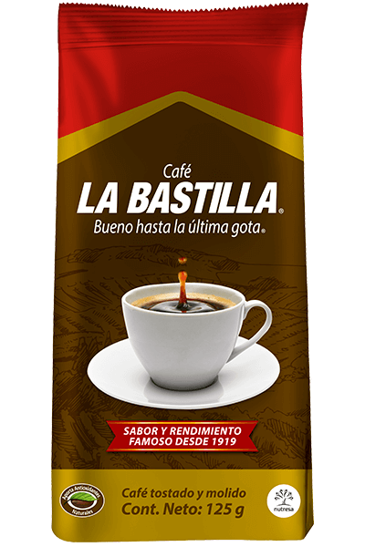 Café la bastilla suave 125g