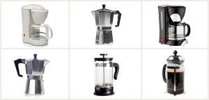 Tipos de cafetera de la bastilla